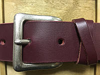 Женский кожаный ремень под джинсы.