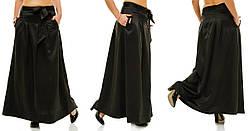 Длинная юбка с бантом . (48-54) код 802 Б СКЛАД
