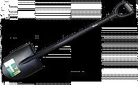 Лопата закругленная с металлическим черенком