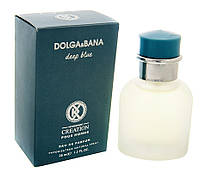 "Dolce & Gabbana Light Blue, 35 мл, аналог от K.Creation ""Dolga & Bana Deep Blue"", мужской"