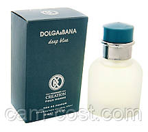 "Dolce & Gabbana Light Blue, 35 мл, аналог от K.Creation ""Dolga & Bana Deep Blue"", мужской"