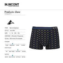 Мужские боксеры стрейчевые марка «IN.INCONT»  Арт.3541, фото 3