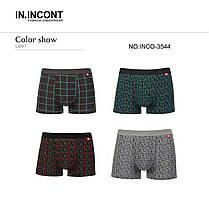 Мужские боксеры стрейчевые марка  «IN.INCONT»  Арт.3544, фото 3
