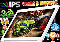 Игровой планшет телефон, Lenovo МЕТАЛЛ 12 ядер, 2Gb/16 Gb, IPS,GPS, 2sim,3G+чехол+гарантия 2 года
