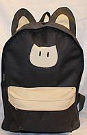 Ранец Рюкзак  школьный для подростка Wallaby Кошка 17-553318-1