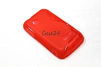 Чехол для Sony Xperia Tipo ST21i красный