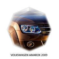 Реснички на фары Volkswagen Tiguan, Накладки на фары Тигуан
