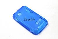 Чехол для Sony Xperia Tipo ST21i синий