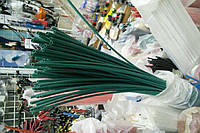 Термоусадочная трубка,размер 1,5/0,75мм,цвет зелёный,длина 1метр