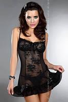 Сорочка-пеньюар, комплект со стрингами Livia Corsetti (эротическое женское белье)