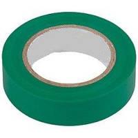 Лента изоляцийна 0,15 * 15 * 20 зеленый