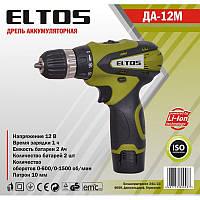 Акумуляторна дриль Eltos ТАК 12М Li-ion
