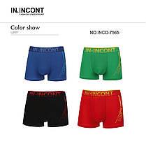 Чоловічі боксери стрейчеві марка «IN.INCONT» Арт.7565, фото 3