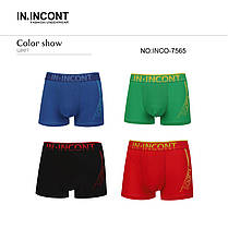 Мужские боксеры стрейчевые марка «IN.INCONT»  Арт.7565, фото 3