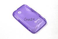 Чехол для Sony Xperia Tipo ST21i фиолетовый, фото 1