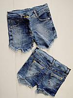 Джинсовые шорты для девочки 3,4,5,6,7,8,9,10 лет
