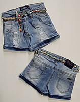Джинсовые шорты для девочки 5,6,7,8,9,10,11,12 лет