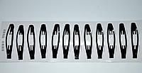 Зажимы для волос - черная (10 шт)