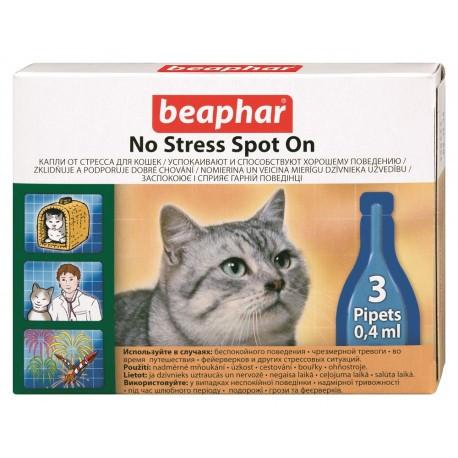 Капли антистресс для котов (no stress spot on) 3 пипетки