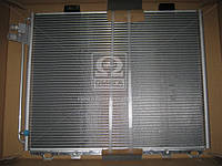 Конденсор кондиционера MB W210 E-CLASS MT/AT 95- (Van Wezel) 30005232