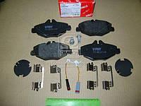 Колодка тормозной MB E-CLASS (W211), E-CLASS KOMBI (S211) передний (Производство TRW) GDB1542