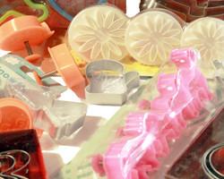 Плунжерные вырубки, вырубки и каттеры для мастики и теста