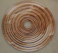 Фото - рамки деревяні - Круглі .