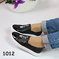 Слипоны на белой платформе лак носок, женская обувь, кроссовки, кеды, мокасины
