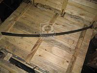 Лист рессоры №1 заднего ЗИЛ 130 1600мм с накладка (производитель Чусовая) 130Д-2912100-В