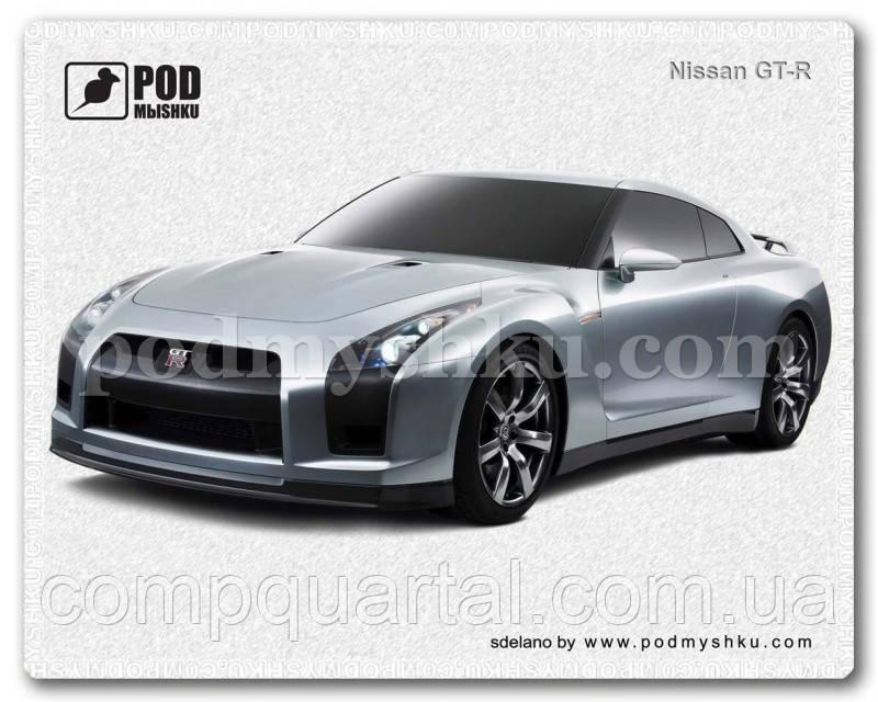 Килимок для мишки PODмыshku ''Nissan GT-R'' 240x190 мм