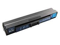 Батарея для ноутбука Acer AC1410 (Aspire: 1410, 1680, 3000, 5000, 7003, TravelMate: 2300, 4000, 5100) 11.1V 4400mAh, Black