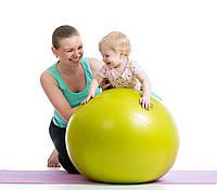 Гимнастический мяч для фитнеса Фитбол Gymnastic Ball диаметр 55 см