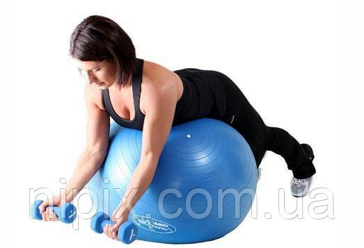 Гимнастический мяч для фитнеса Фитбол Gymnastic Ball диаметр 75 см