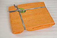 Бамбуковая простынь 200х220 Cestepe Bamboo Premium оранжевая