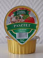 Паштет мясной с добавлением паприки Familijne przysmaki Польша 130 г