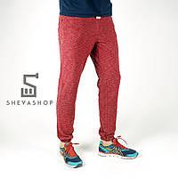 Спортивные штаны Pou трехнитка, красные