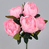Букет из пионов розовый