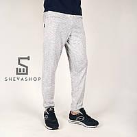 Спортивные штаны Pou трехнитка, светло-cерые, фото 1
