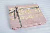 Бамбуковая простынь 160х200 Cestepe Bamboo Altin розовая