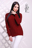 Вязаные женские весенние свитера Мрия-1 из шерсти с акрилом