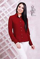 Классические женские рубашки Бенд-1 с длинным рукавом