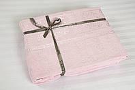 Бамбуковая простынь 160х200 Cestepe Bamboo Premium розовая