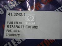 Трос ручного тормоза RENAULT TRAFIC (производитель Adriauto) 41.0242.1