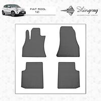 Комплект резиновых ковриков Stingray для автомобиля  Fiat 500L 2012-     4шт.