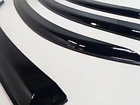 Дефлекторы окон DAEWOO Lanos седан (на скотче) ветровики Ланос