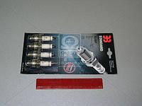 Свеча зажигания ЭЗ А-14ВР УАЗ ( комплект 4 штук) (производитель Энгельс) А-14ВР