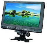 Телевизор для автомобиля 9 дюймов, портативный телевизор, автомобильный телевизор, монитор в авто