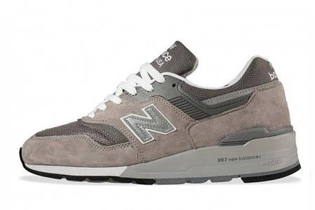 Кроссовки мужские New Balance 997 Grey топ реплика, фото 2