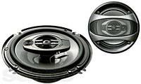 Колонки автомобильные Pioneer TS-1673, акустические колонки, автоколонки коаксиальные, колонки в автомобиль