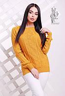 Вязаные женские весенние свитера Мрия-3 из шерсти с акрилом